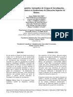 Diagnostico Cuerpo Academico CISCI2009[1]