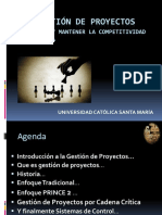 1. Introducción a Gestión de Proyectos