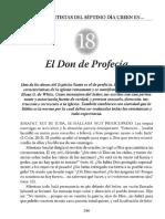 18 El Don de Profecía