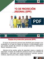 Tema IV Equipo de Proteccion Personal 2017