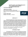 Citizen Participation and Performance Measurement