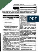 LeyZ29675 Ley Que Modifica Diversos Art de Zcodigo Penal Sobre Delitos Contra La Salud Publica