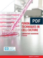 Fundamental Techniques in Cell Culture 3rd Edition