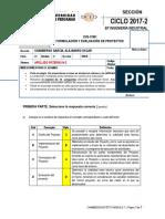 Tipo b Examen Parcial Formulación y Evaluación de Proyectos 2017-2