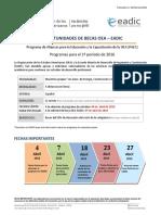 Convocatoria1 OEA-EADIC 2016