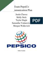 Final Communication Plan Team Report