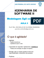 Eng Software II - Aula 3 - SCRUM