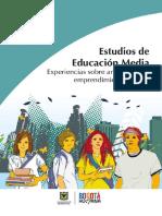 Estudios de Educación Media Experiencias Sobre Articulación y Emprendimiento Escolar