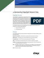 Understanding EdgeSight Network Data