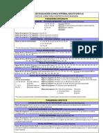 Ficha de Evaluación Clínica Integral Adulto (FECI-A)