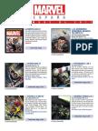 Catálogo Marvel Diciembre