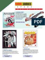 Catálogo Panini Diciembre