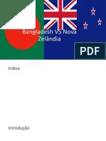 Bangladesh vs Nova Zelândia