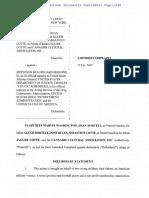 Washington v Sessions Amended Complaint (to deschedule Marijuana)