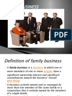 Family Business Ppt by Sai