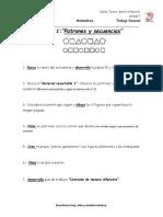 Ficha 1 Patrones y Secuencias