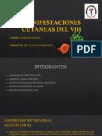 Seminario de Dermato Manifestaciones Cutaneas Del Vih