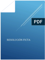 RESOLUCION FICTA