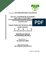 Analisis Teorico de Un Horno Continuo Para El Secado de Ladrillos