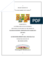A Project Report on ITC Bingo MBA Marketing
