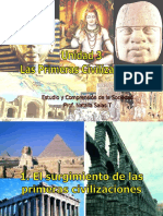 PRIMERAS CIVILIZACIONES..ppt