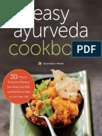 The Easy Ayurveda Cookbook_ An - Rockridge Press.pdf