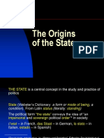 The Origins of the State-1