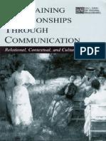 Maintaining Relationships Through Communication