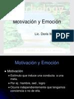 Cap 9 Motivacion y Emocion