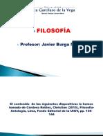 FILOSOFÍA LECCIÓN 14