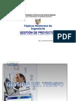 Sesion 6 Procesos de Dirección -Gestión Del Tiempo