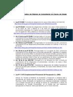 Marco Normativo Del Regimen de Consolidacion