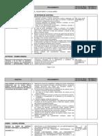Programa General de Auditoria de Cumplimiento