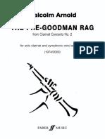 Pre-Goodman Rag Score