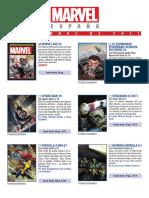 Catalogo Marvel Diciembre