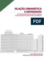 Legislação Urbanística e Densidades