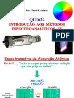 Espectroanalitica - Absorcao Atomica