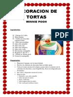Recetas DECORACION TORTAS Winnie Pooh
