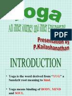 Yoga English
