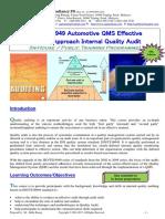 42.ISOTS16949 Automotive QMS Effective Process Aproach IQA Rev2