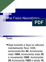 Exame Fisico Neuro Marcia