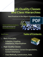 09 High-Quality Classes