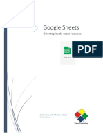 Apostila Google Sheets