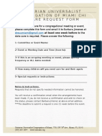 Childcare Request Form