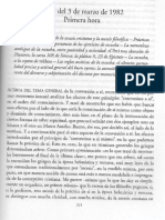 Hermeneutica Del Sujeto Clase 3 Marzo 1982