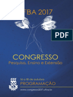 CONGRESSOUFBA17 Programacao Virtual 11102017