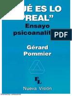 Pommier - Qué Es Lo 'Real' (1)