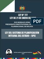 1. Ley Spie Nª777