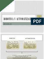 Robotica y Automatizacion