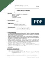 Programa Ingles II 2009
